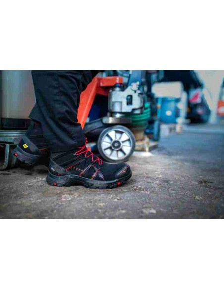 HAIX Black Eagle Safety 40 Mid black/red - Act. 01 - Cardio Angel
