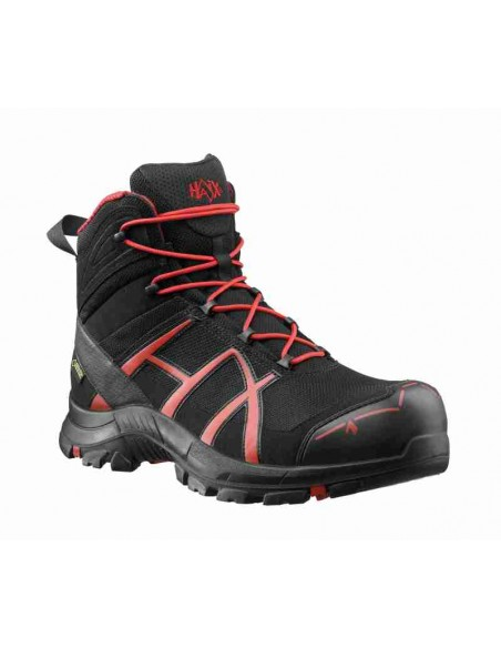 HAIX Black Eagle Safety 40 Mid black/red - Front - Cardio Angel