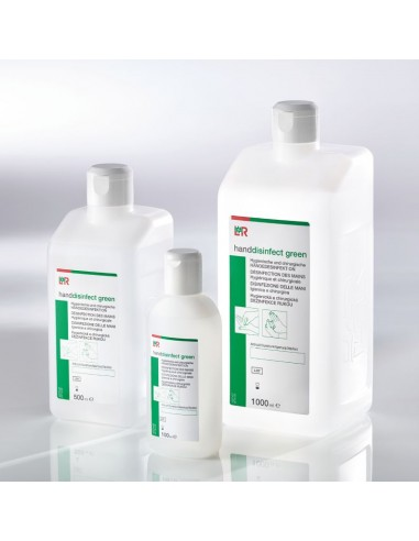 L&R Hand Desinfektion green  500ml